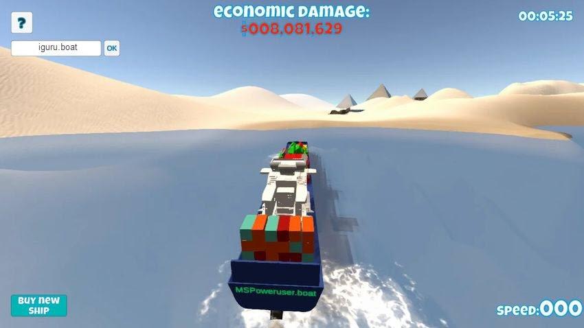 Suez Canal Simulator - Παίξτε ένα παιχνίδι προσομοίωσης στο κανάλι του Σουέζ