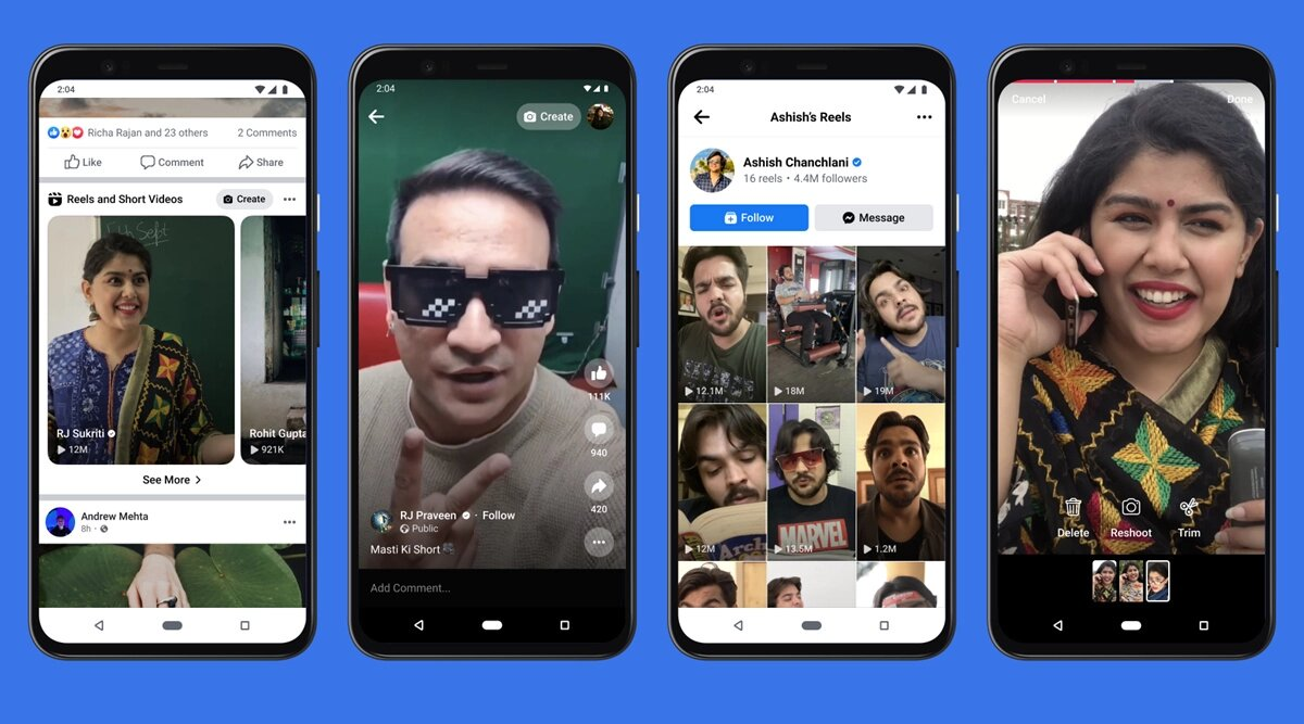 facebook reels - Facebook Reels γιατί υπάρχει το TikTok