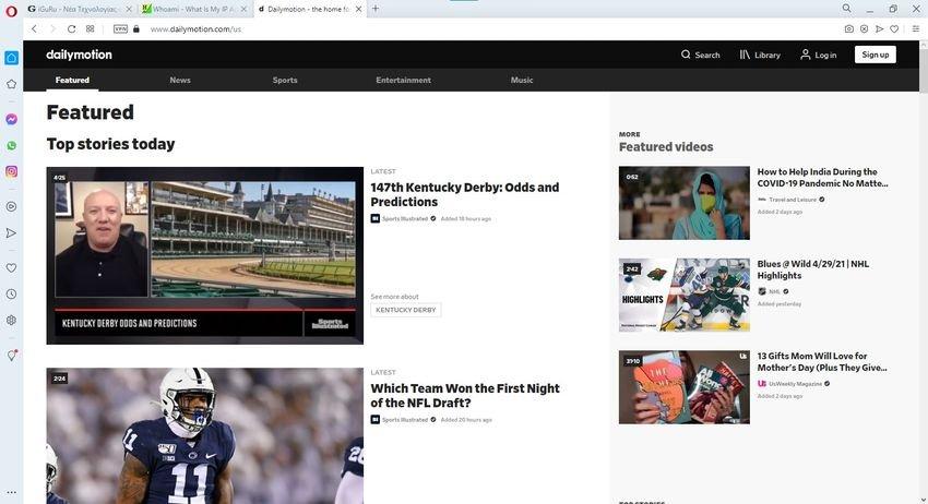 dailymotion - 12 βίντεο ιστότοποι, εναλλακτικοί του YouTube