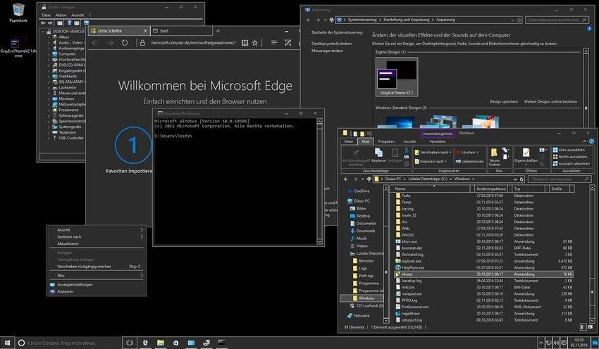 greyeve theme windows 10