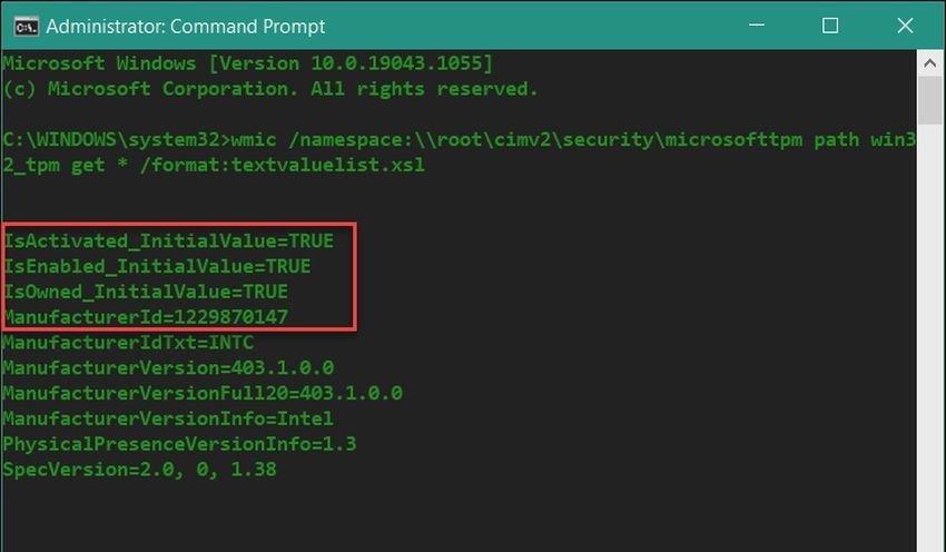 tpm command prompt