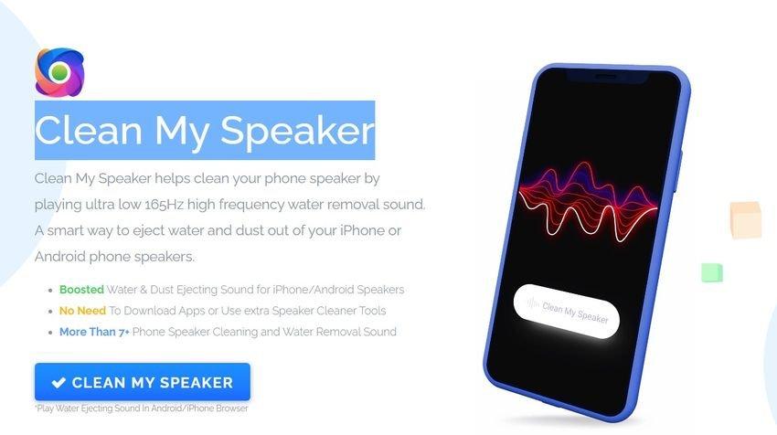 clean speaker