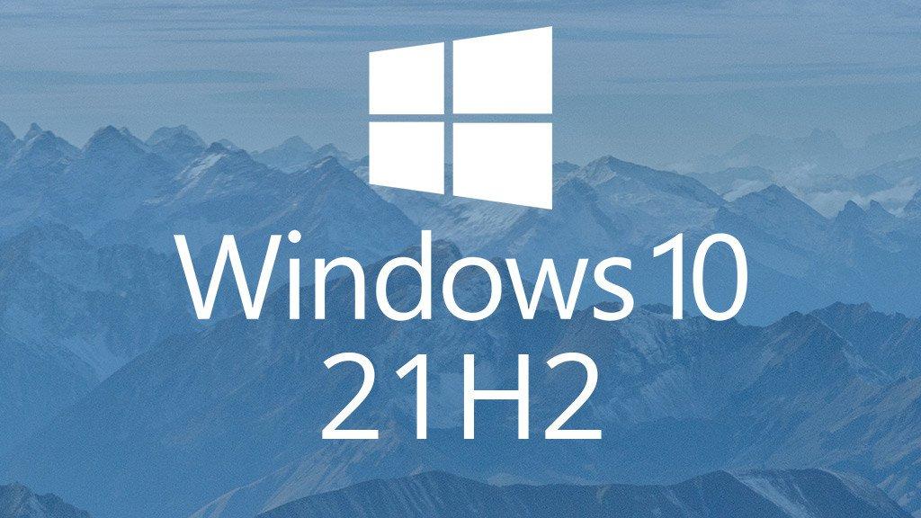 windows 10 21h2