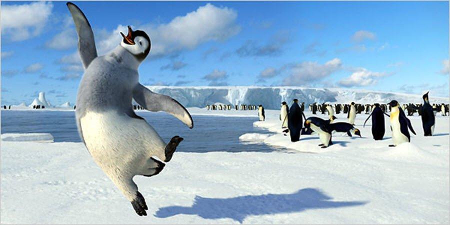 happy pinguine